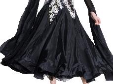 Pearl Silk #04 - BLACK