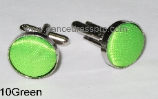10 Cuff Link - Light Green