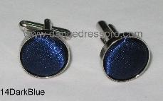 14 Cuff Link - Dark Blue