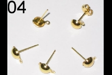 04 Gold Needles (made of gold-plated iron, 6mm diameter)