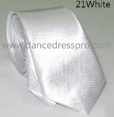 21 Necktie - White