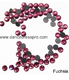 Middle East stones SS30 - Fuchsia