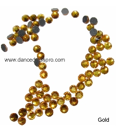 Middle East stones SS30 - Gold