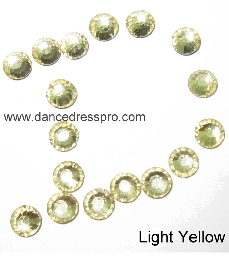 Middle East stones SS20 - Yellow (light)