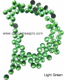 Middle East stones SS30 - Green (light)