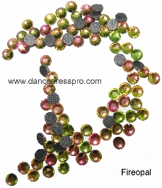 Middle East stones SS30 - Fireopal